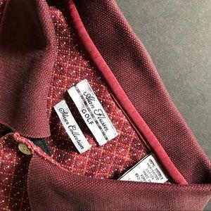Men's Alan Flusser Golf Silver Edition Polo Shirt